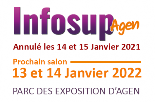 Restrictions COVID-19 : annulation du salon Infosup Agen 2021